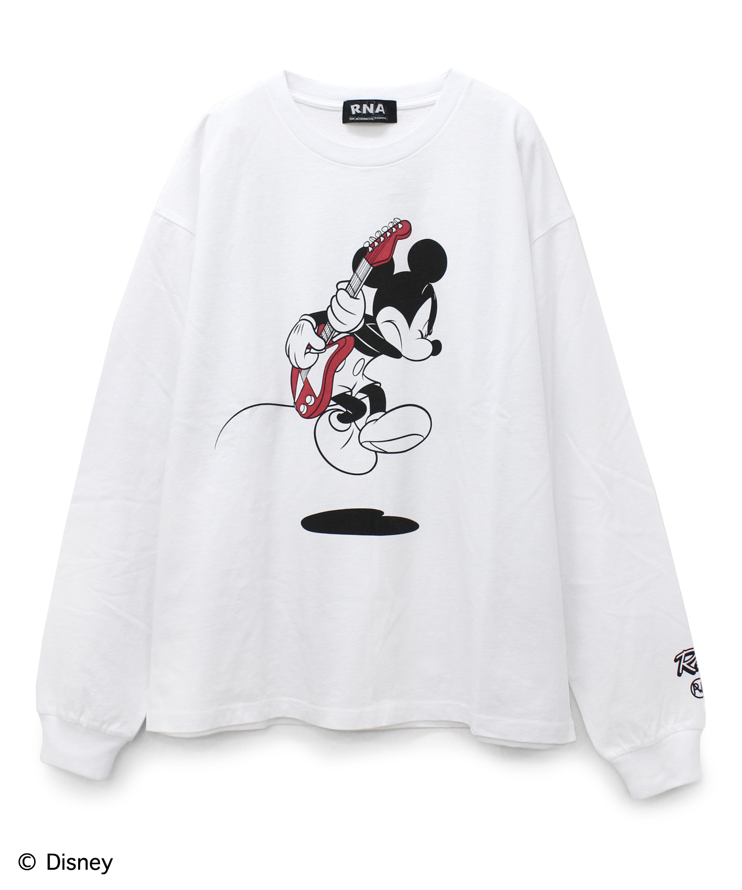 M1013 ROCK MICKEY MOUSE/ルーズロンT